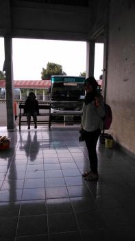 Bus SAN, Terminal simpang Nangko Curup