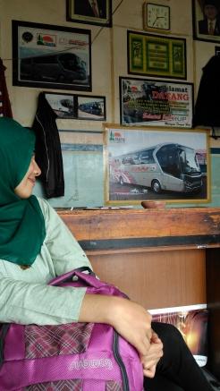 Loket Po. Bus SAN, TErminal Simpang Nangko Curup