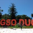 Pulau Angso Duo setelah di renovasi