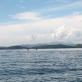 Pemandangan di Boat balik ke Pantai Carocok