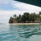 Pemandangan di Boat ke Pulau Cingkuak