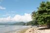 Pulau Cingkuak, di seberang Pantai Carocok