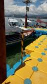 Dermaga Pulau Cingkuak, di seberang Pantai Carocok