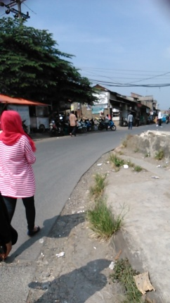 Menuju Pasar Citayam