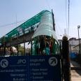 Jembatan penyebrangan di samping Stasiun Bogor