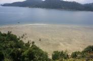Puncak bukit Pulau Pasumpahan