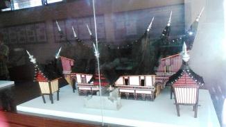 Miniatur Rumah Gadang Datuak Bandaro Kuniang Limo Kaum