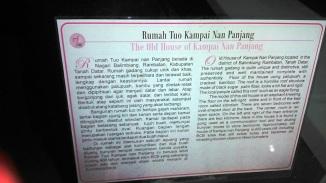 Informasi Rumah Tuo Kampai Nan Panjang