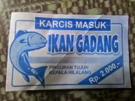 Tiket Ikan Gadang Di Kapalo Hilalang