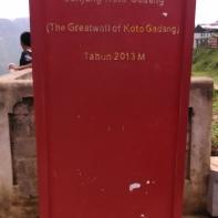 Jambatan Gadang Koto Gadang (18 Oktober 2015) with Mom & Unjut (4)