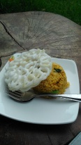 Salah satu menu di cafe sekitar Human Bakau (Mangrove Forest) PIK.